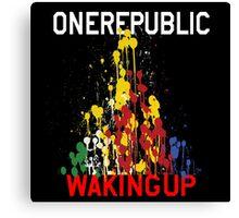 OneRepublic Waking Up  Canvas Print