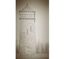 fire tower Photographic Print