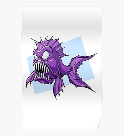 Piranha-Cuda Poster