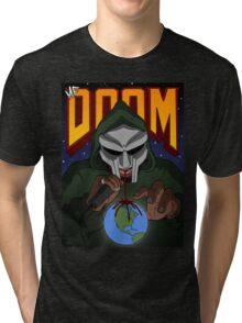 MF Doom Artwork Tri-blend T-Shirt
