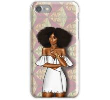 Ankara x White iPhone Case/Skin