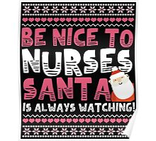 Gifts For Nurses Christmas Gift Poster