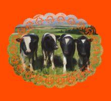 Curious cows Kids Tee
