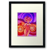 Majestic hero Framed Print