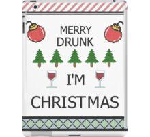Merry Drunk iPad Case/Skin