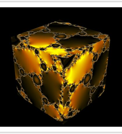 Cubic Fractal Sticker
