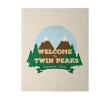 Welcome to Twin Peaks Gallery Board