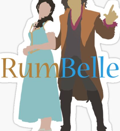 Rumbelle - Once Upon a Time Sticker