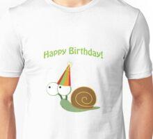 Happy Birthday! Party Snail Unisex T-Shirt