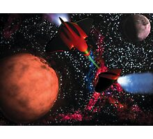 Space Wars Photographic Print