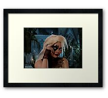 Sweetest Vampire Framed Print