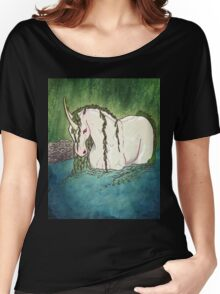 Willow Unicorn Women's Relaxed Fit T-Shirt