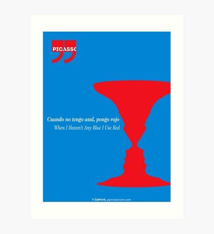 Pablo Picasso Quote Art Print