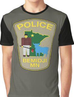 POLICE Bemidji MN Graphic T-Shirt
