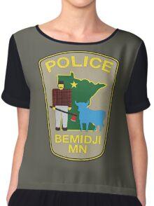 POLICE Bemidji MN Chiffon Top