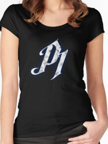 Curbstomped - P1 Women's Fitted Scoop T-Shirt