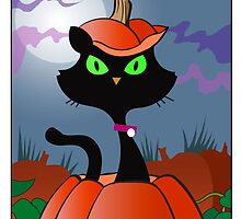 Pumpkin Cat by titestreet