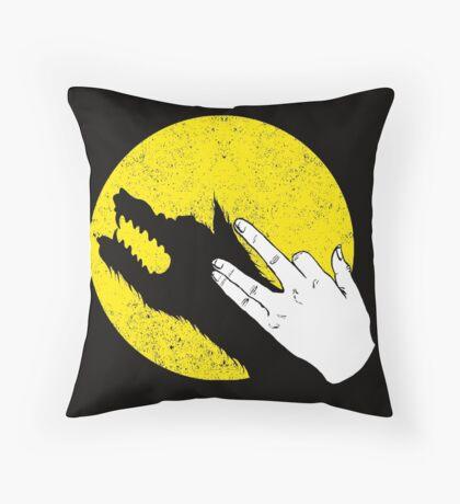Hand of the Werewolf Throw Pillow