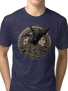 Breaching Whale Tri-blend T-Shirt