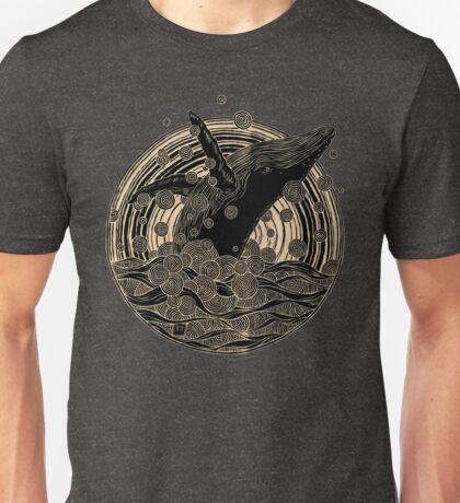 Breaching Whale Unisex T-Shirt