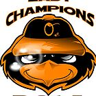 O's AL champs shirt by everdreaded