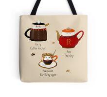 The Golden Tea-o Tote Bag