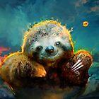 sloth love by ururuty