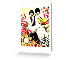 Divine Glamour Greeting Card