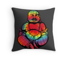 Tie-Dye Buddha 2 Throw Pillow