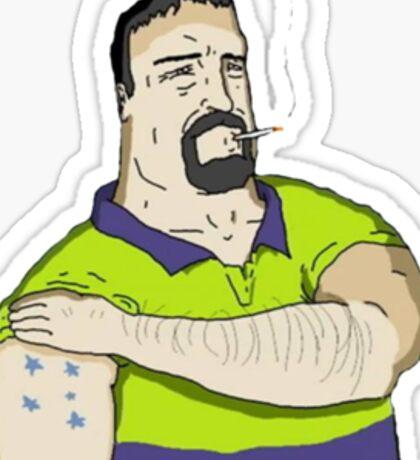 Mike Nolan Big Lez Show Sticker