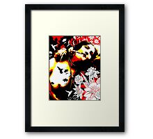 Mischievious Hummingbird Framed Print