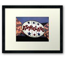 Astroland Framed Print