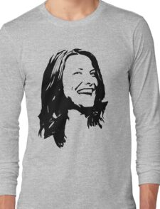 Abstract Smile and Laugh Long Sleeve T-Shirt