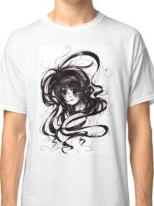 Lost In Dark Hair Classic T-Shirt