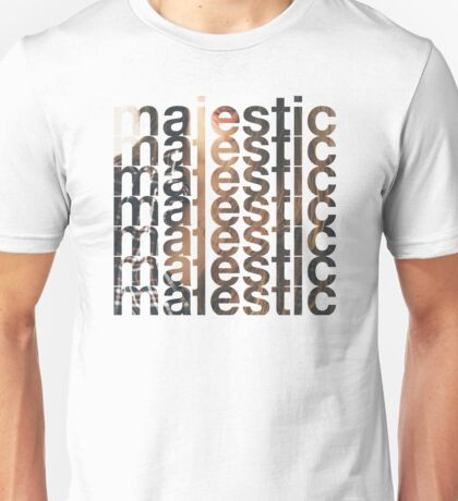 Majestic casual Unisex T-Shirt