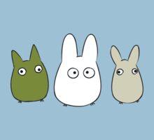 Chibi Totoro One Piece - Short Sleeve
