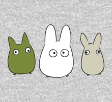 Chibi Totoro One Piece - Long Sleeve