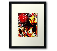 Rapturous Facination Framed Print
