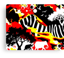 Safari Dreams Canvas Print