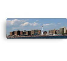Coney Island Beach 2  Canvas Print