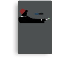 Mad Man (with a Box) Canvas Print