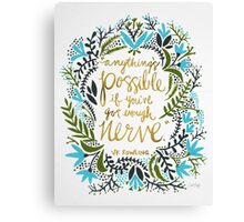 Anything's Possible Canvas Print