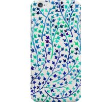 Turquoise Ivy iPhone Case/Skin