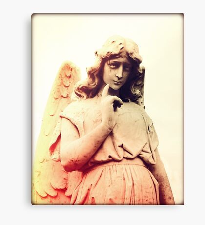 Angel Among Us I Canvas Print