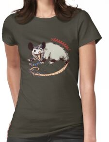 Daisy Chain Opossum Possum Yaaaas! Womens Fitted T-Shirt