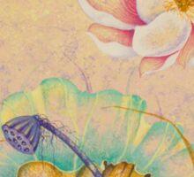 Lotus. Tenderness Sticker