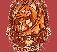 I choose fire  by jmlfreeman