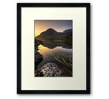 Tryfan Mountian  Framed Print