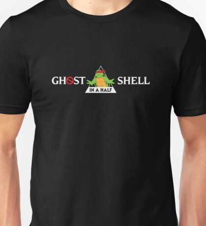 Ghost In A Half Shell Unisex T-Shirt