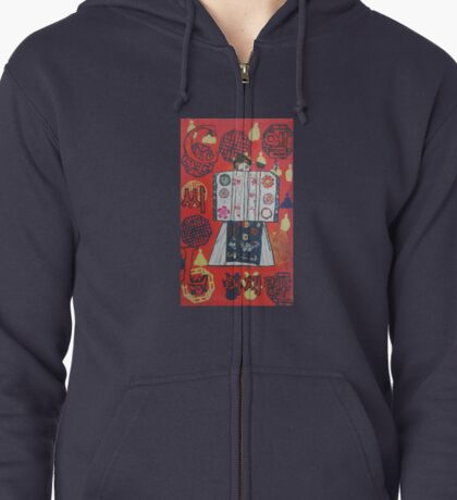 TRADITIONAL CL Zipped Hoodie
